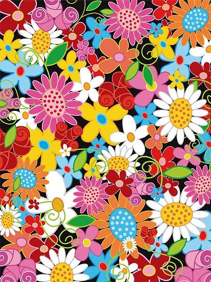 Spring Flower Power by fatfatin