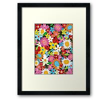Spring Flower Power Framed Print