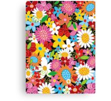 Spring Flower Power Canvas Print