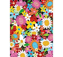 Spring Flower Power Photographic Print