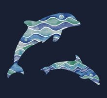 Ocean Pattern Kids Clothes