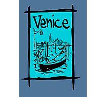 Venice lagoon sketch Photographic Print