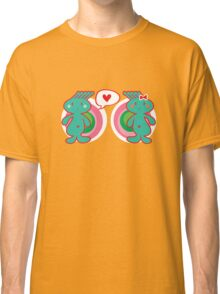 Funky Boy Loves Girl Classic T-Shirt