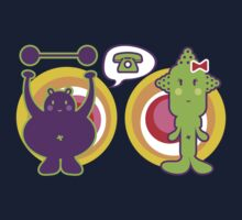 Mr. Purple and Miss Green T-shirt Kids Clothes