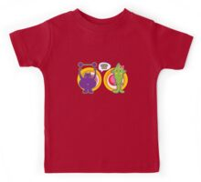 Mr. Purple and Miss Green Kids Tee