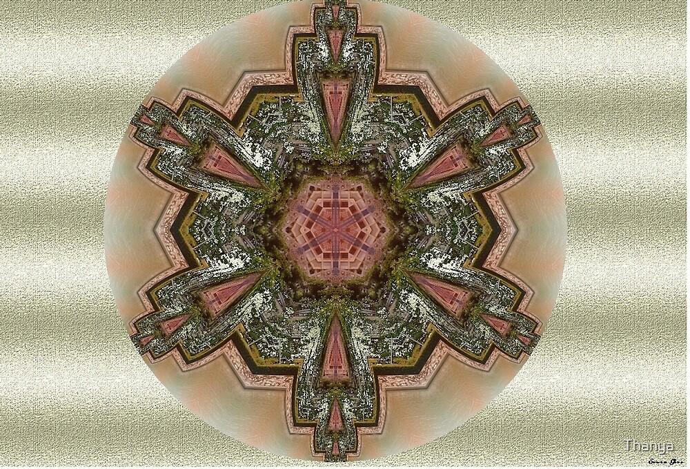 Mandala Verde by Thanya