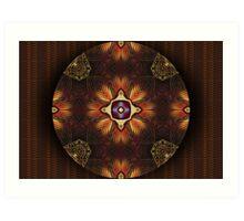 Oriental Mandala 2 Art Print