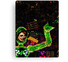 Woman Machine Canvas Print