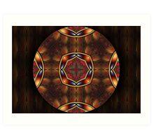 Mandala Oriental 6 Art Print