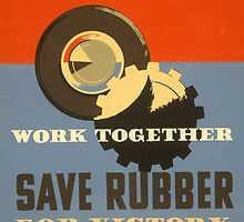 Ride Together, Save Rubber by Vintagee