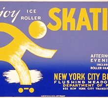Ice Roller Skating by Vintagee