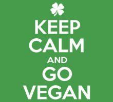 Keep calm and go Vegan by Balugix