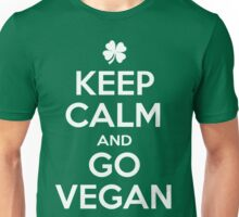 Keep calm and go Vegan Unisex T-Shirt