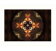 Oriental Mandala 4 Art Print