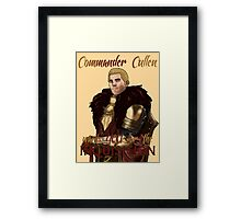 For the Inquisition Framed Print