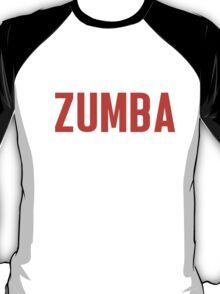 Burn Off The Crazy Zumba T-shirt T-Shirt