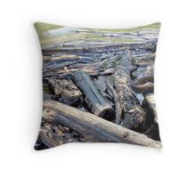 NOLA Oil Spill: The Timbers Throw Pillow