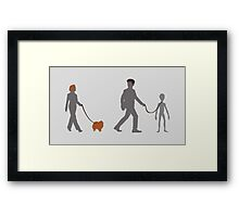 Mulder's New Pet Framed Print