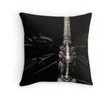 X-Ray Dragonfly Throw Pillow