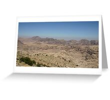 Standing on the Mountain Greeting Card
