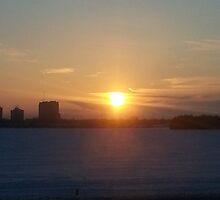 Warm Winter Sunrise by Indigo613
