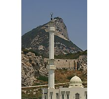 Gibraltar's Highest Point Photographic Print