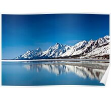 Grand Teton Reflection Poster