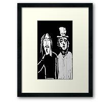ZAPPA & BEEFHEART Framed Print