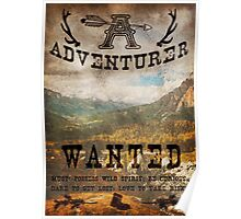 Adventurer Wanted Poster