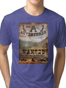 Adventurer Wanted Tri-blend T-Shirt