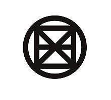 Exon Logo Photographic Print