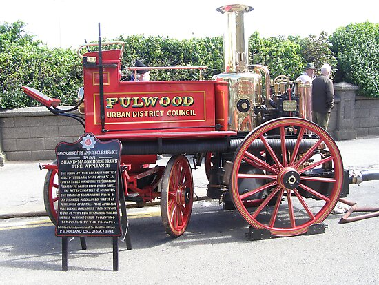 Horse Drawn Fire Appliance (Tram Sunday Fleetwood) by Barry Norton