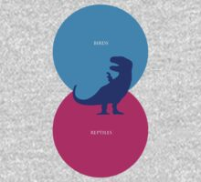 Dinosaur Venn Diagram (Birds + Reptiles) Kids Clothes