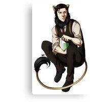 The Kitty Within[SEBASTIAN] Canvas Print