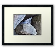 Giants Tumbled Framed Print