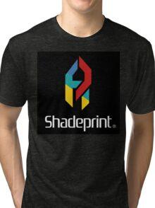 Play Shadeprint Logo Tri-blend T-Shirt