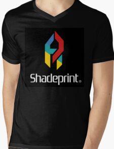 Play Shadeprint Logo Mens V-Neck T-Shirt