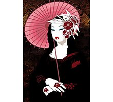 Fior Da Lisa - Geisha Mona Lisa Photographic Print