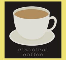 The classical coffee Kids Clothes
