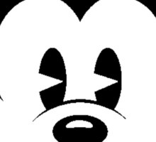 Mickey Mouse Smile Sticker