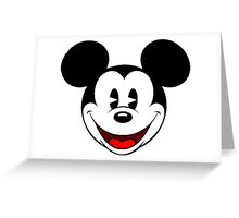 Mickey Mouse Smile Greeting Card