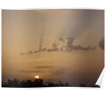 Iraqi Sunrise Poster