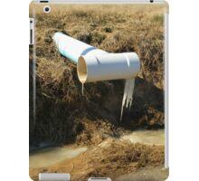 Frozen Pipes iPad Case/Skin