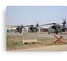 Med Evac Choppers Canvas Print
