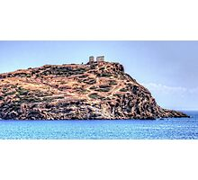 Sanctuary of Sounion Photographic Print