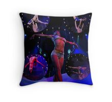 Performers Throw Pillow