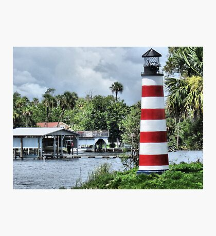Lighthouse On Monkey Island Photographic Print