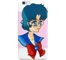Ami Mizuno Pretty guardian sailor moon iPhone Case/Skin