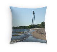 Winnipeg Beach Throw Pillow
