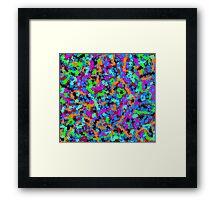 Josie scribbler splatter Framed Print